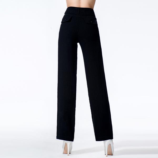 思蓓儿 黑色纯色中筒裤所有评论